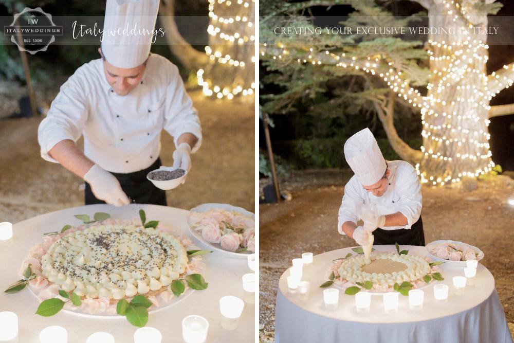 Blessing Live cake Tuscany Ulignano