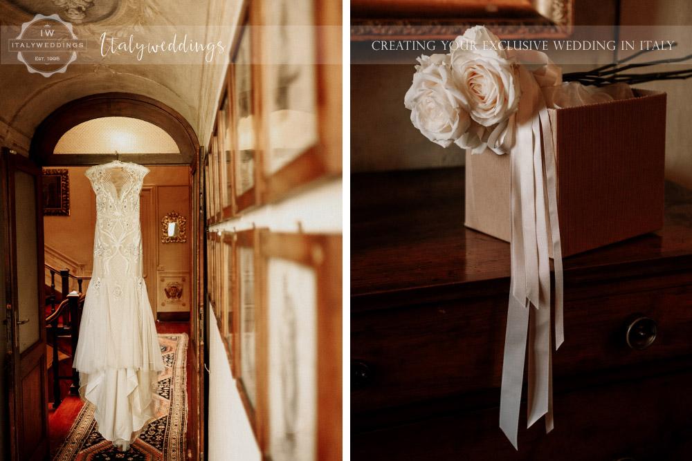 Stomennano wedding Tuscany bridal preparation
