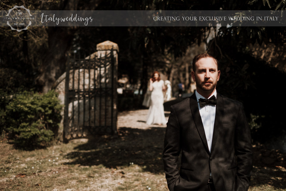 Stomennano wedding Tuscany first look