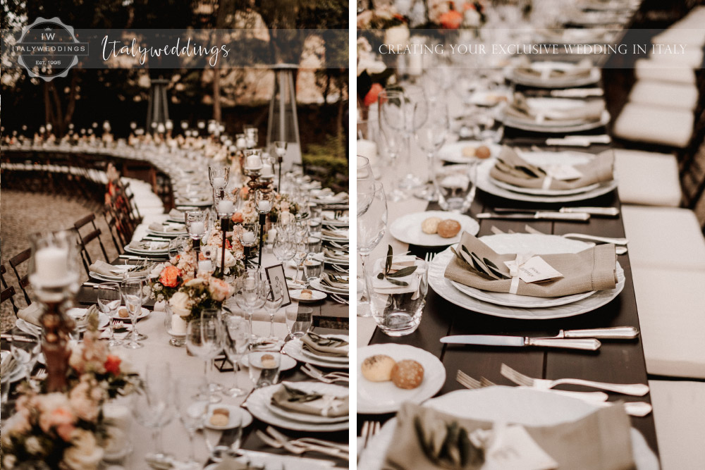 Stomennano wedding Tuscany rustic table