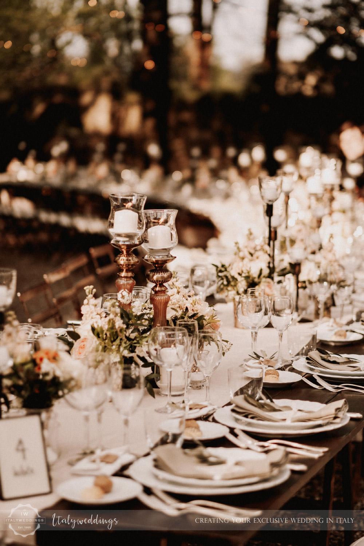 Stomennano wedding Tuscany long table