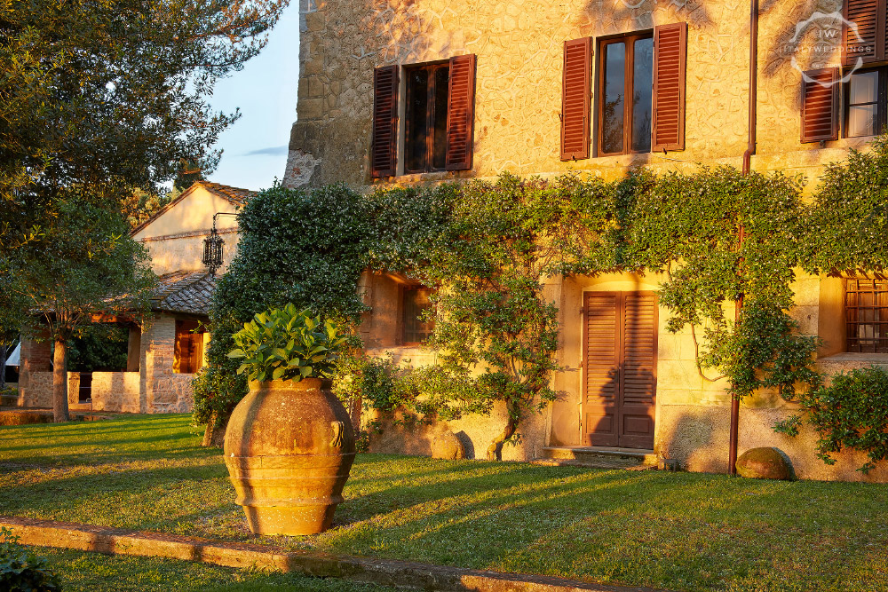 luxury wedding villa in Maremma Tuscany