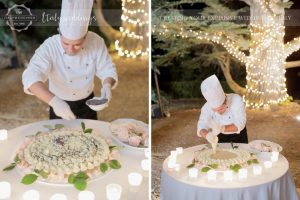 Villa Ulignano wedding in Tuscany - Millefoglie wedding cake