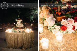 Villa Ulignano wedding - Millefoglie wedding cake