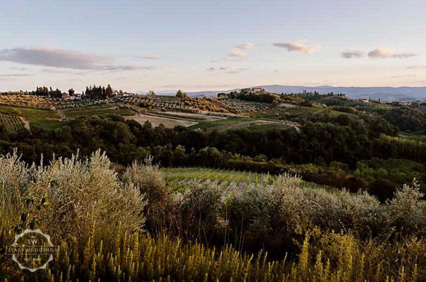 Villa location large events Tuscany