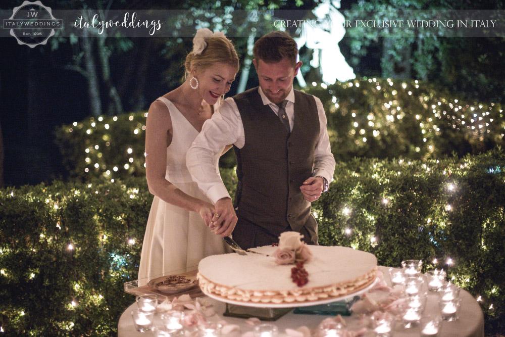 Millefoglie wedding cake