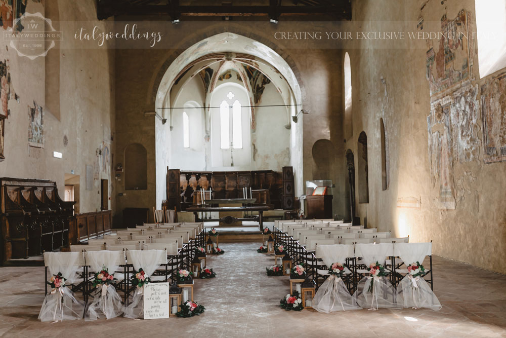 Civil wedding Montone reception Borgo Umbria