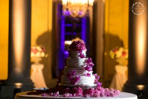 Iced Italian wedding cake