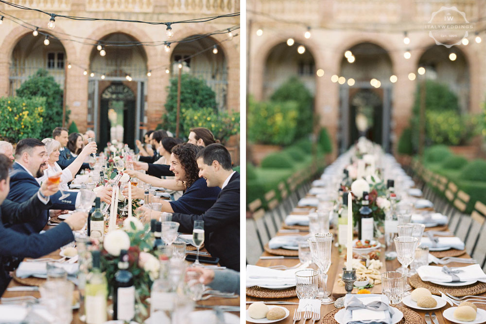 Villa Cetinale Luxury wedding villa Siena Tuscany