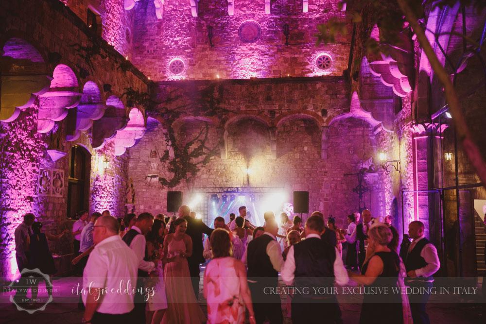 Castello di Vincigliata summer blessing in Florence Italy