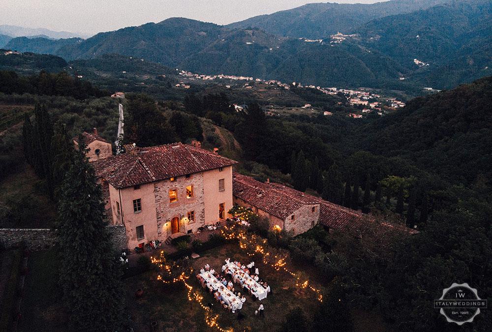 Lucca wedding villa Tuscany