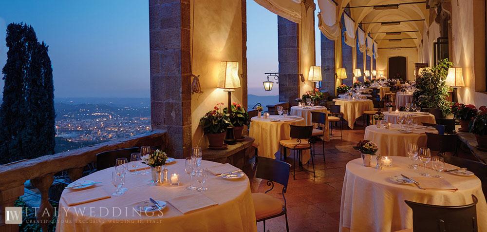 Villa San Michele Florence wedding venue