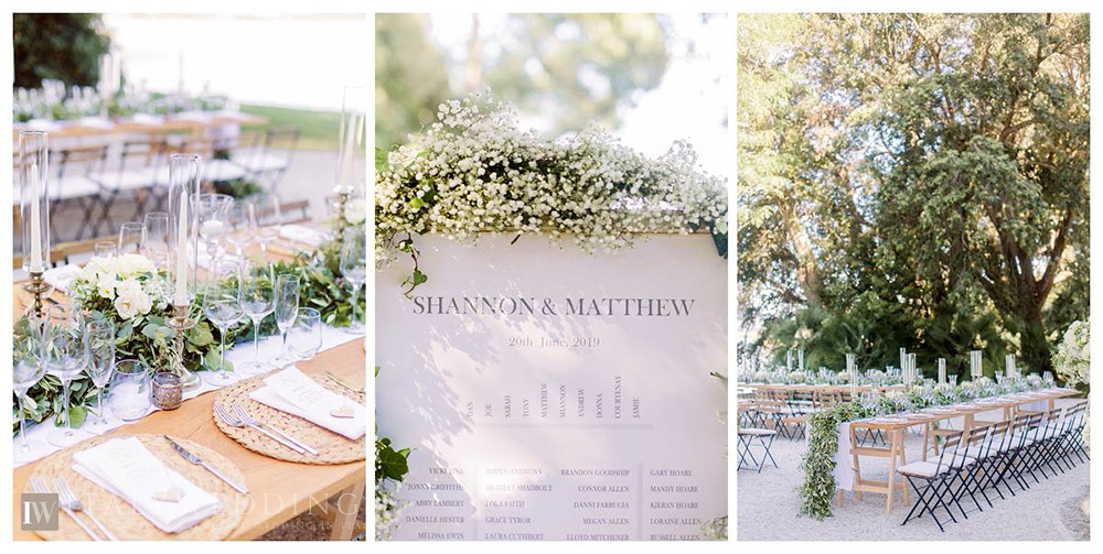 Formal elegant villa lakeside Tuscan civil wedding