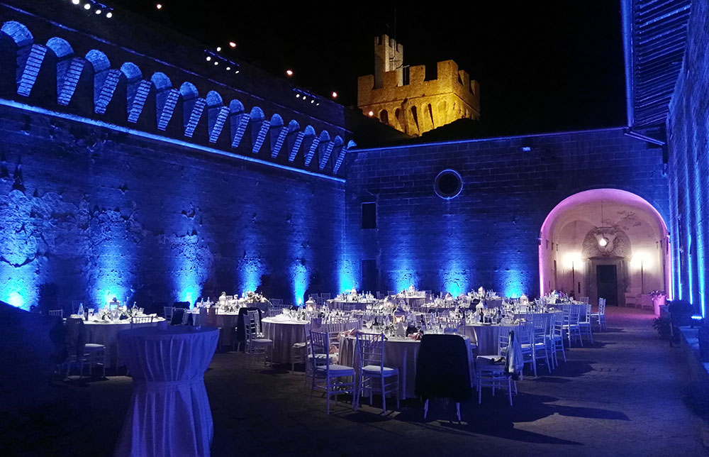 Castle wedding venue Tuscany