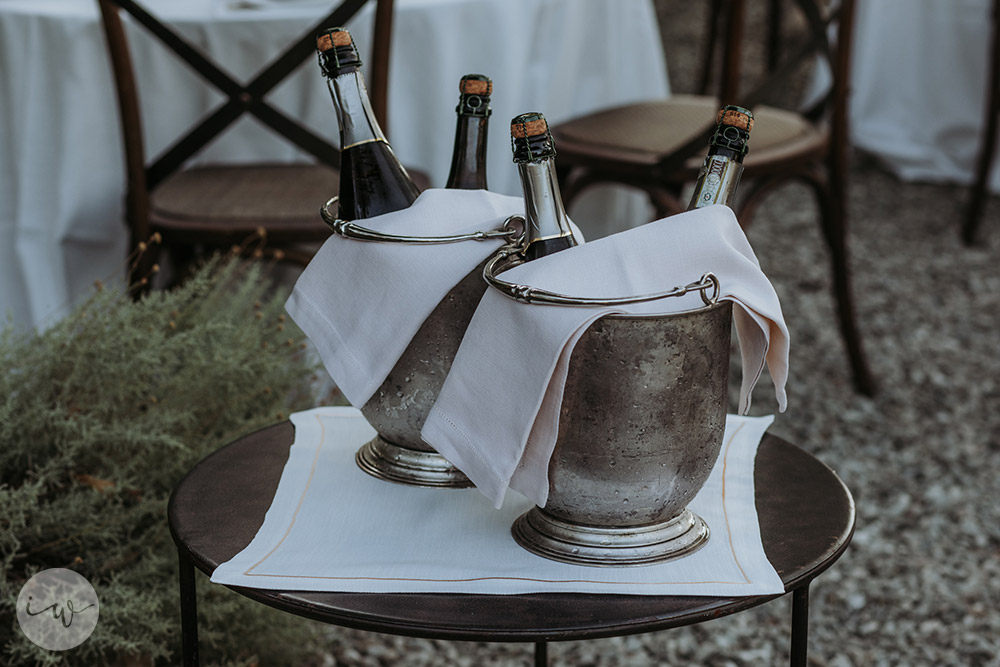 Wedding blessing in Montepulciano Tuscany