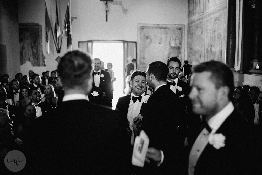 Intimate Catholic wedding villa near the Tuscany coast