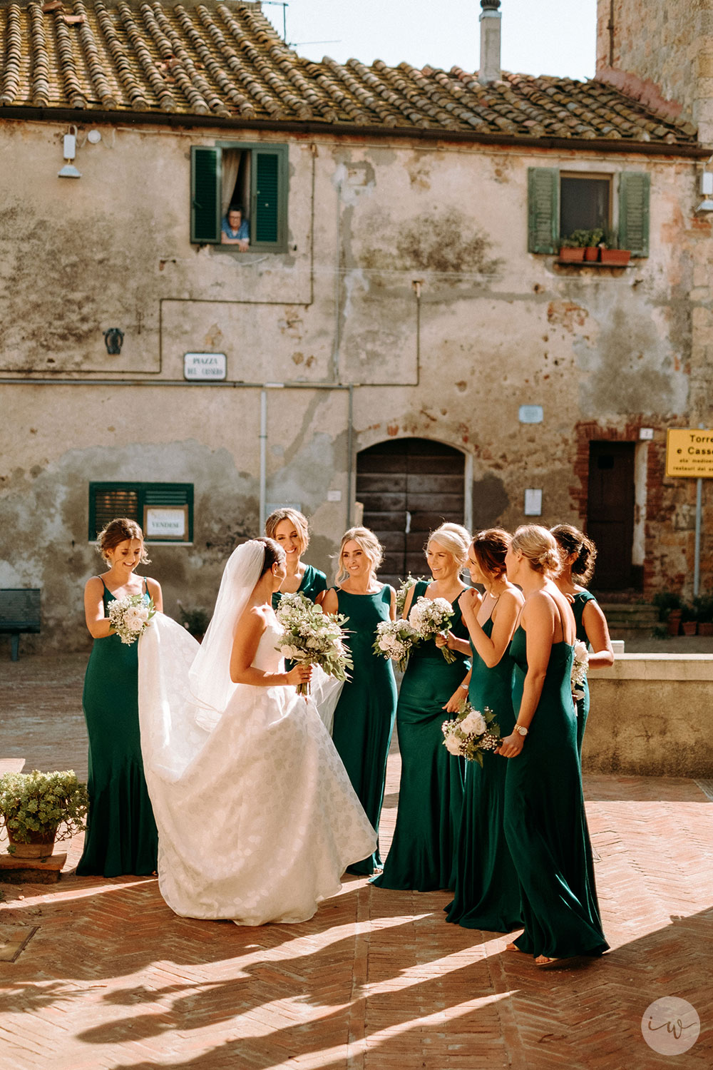 Intimate Catholic wedding villa near the Tuscany coast