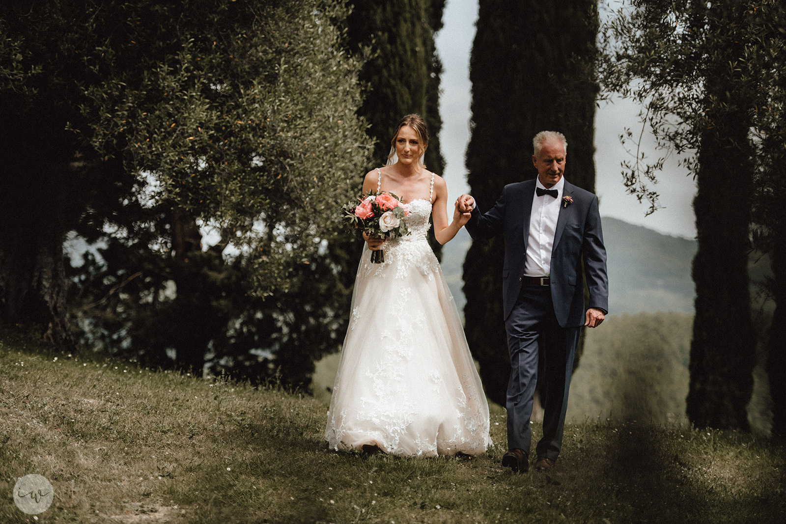 Wedding blessing in Umbria