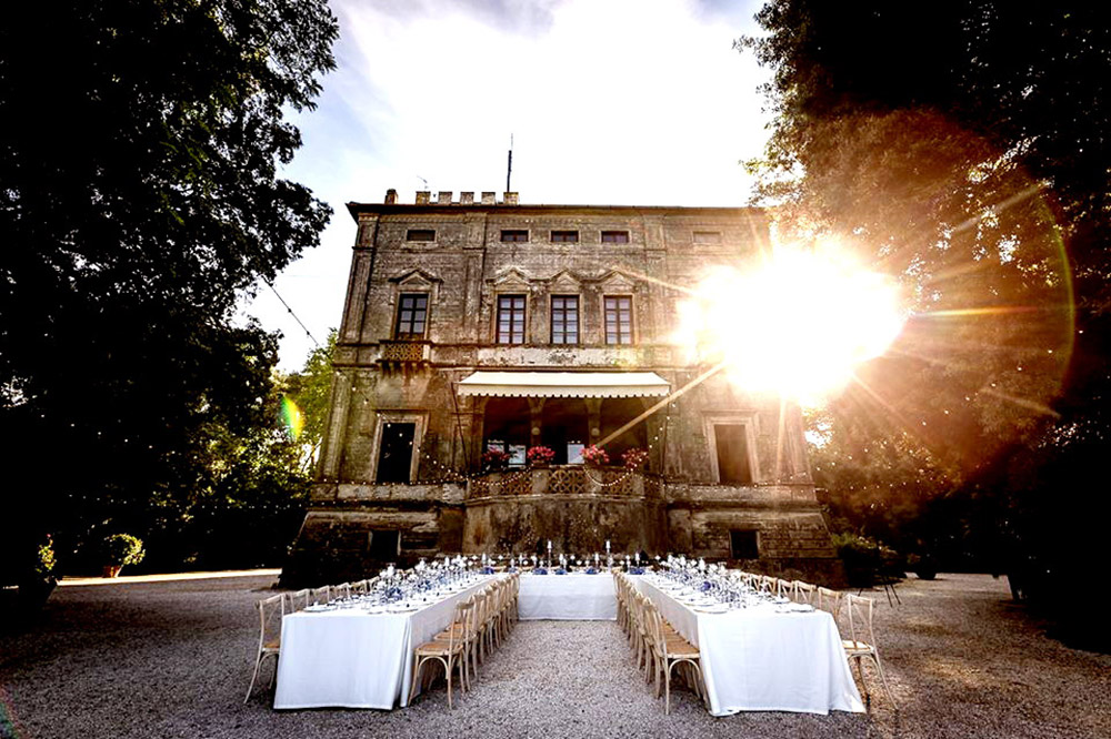 Wedding villa on the Tuscan Coast