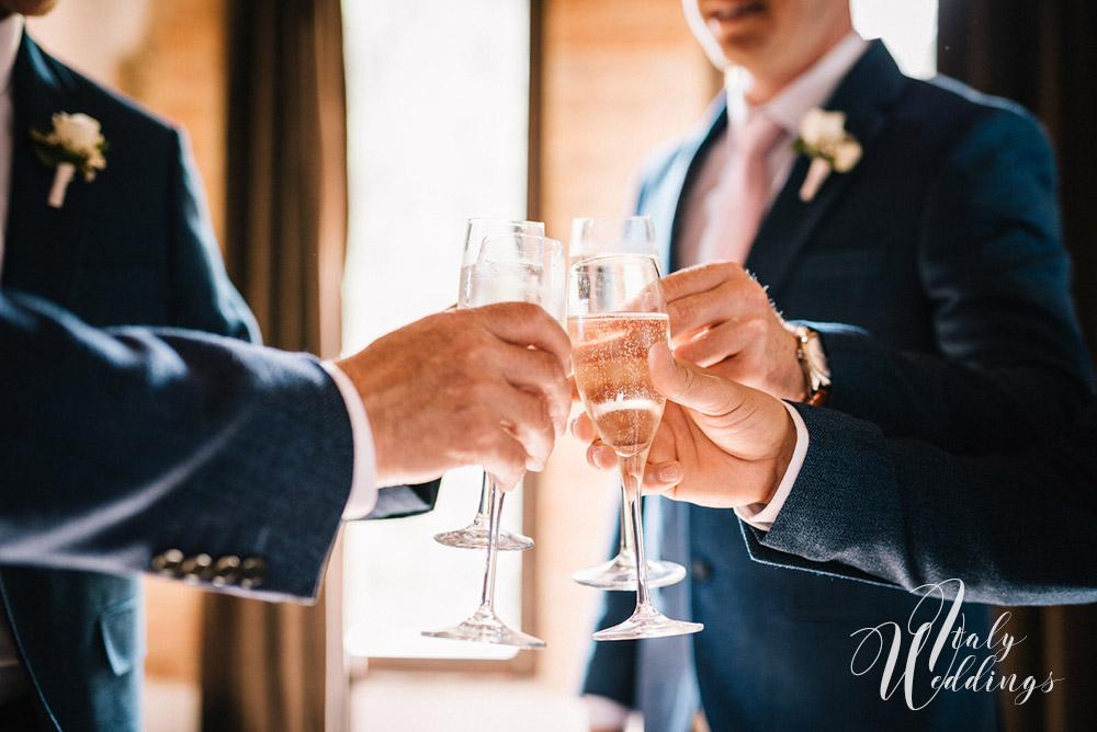 Wedding ceremony Stomennano Monteriggioni in Tuscany