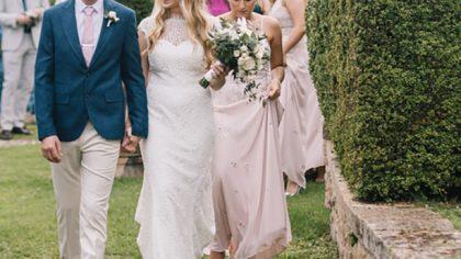 Wedding ceremony Stomennano