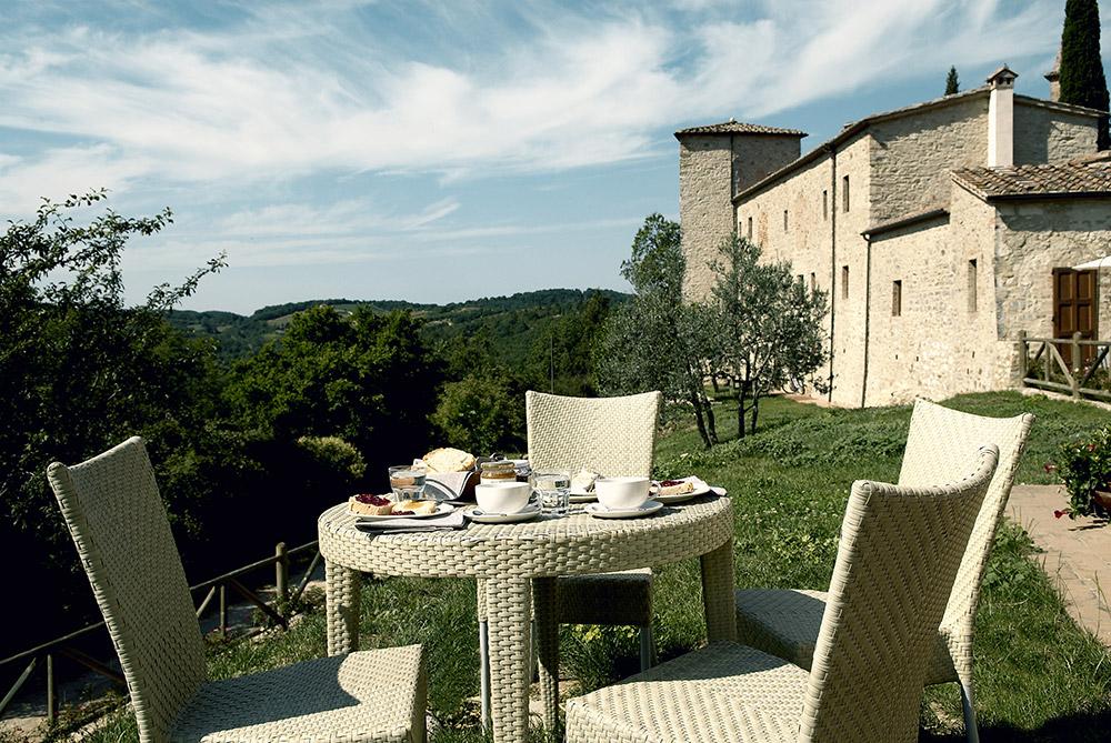 Chianti, Tuscany wedding villa converted village