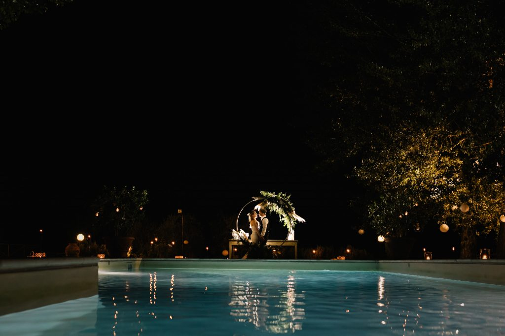 small villa in Siena countryside pool