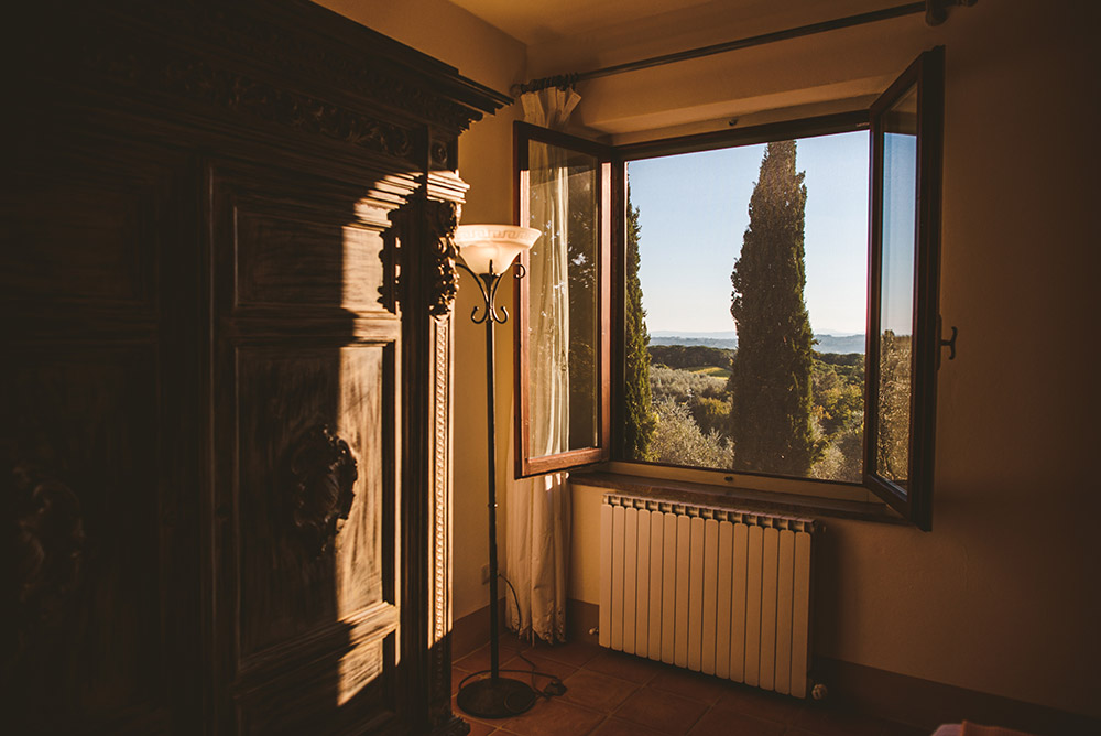 small villa in Siena countryside apartment