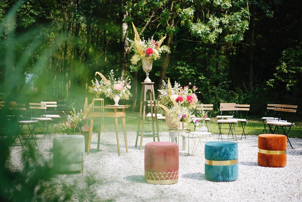 Convent wedding venue Garda gardens