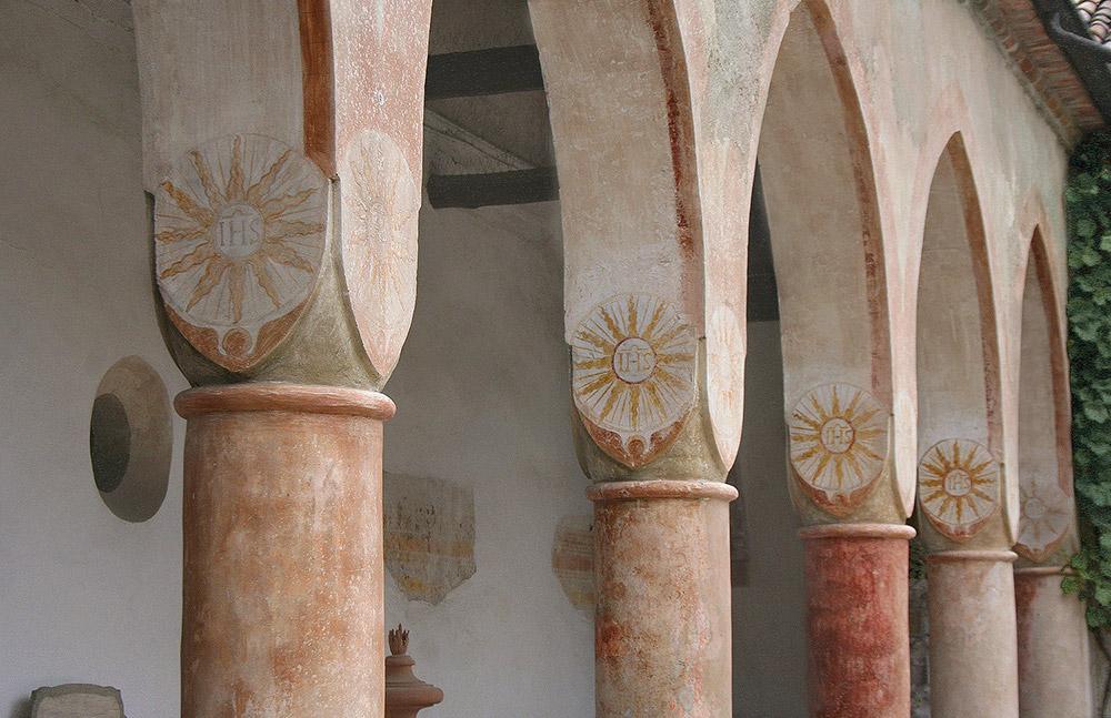 Convent wedding venue Garda loggia