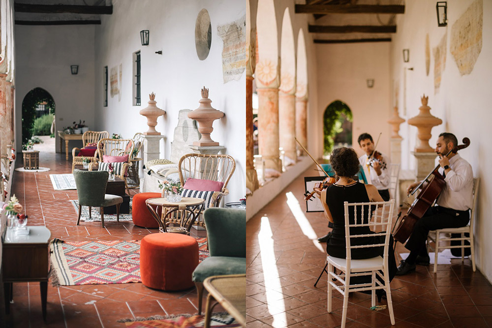 Convent wedding venue Garda