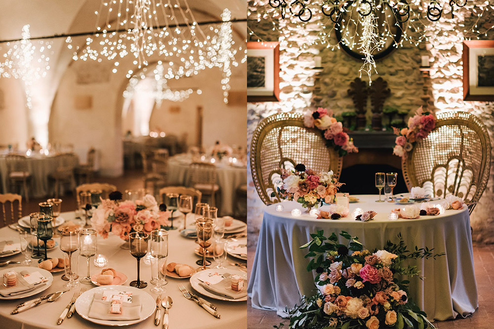 Convent wedding venue Garda halls