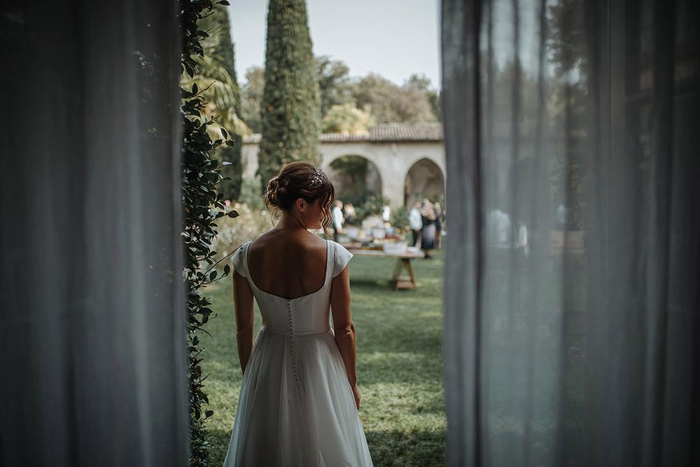 Convent wedding venue Garda bride