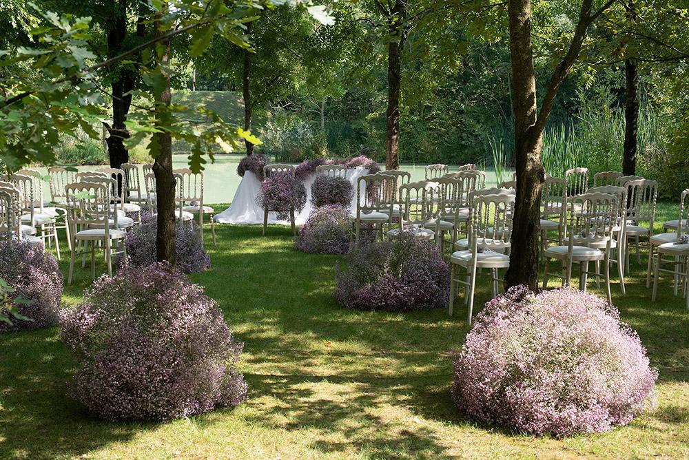 Convent wedding venue Garda blessing
