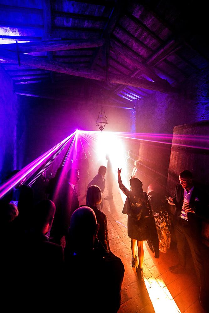 Chianti wedding villa dancing