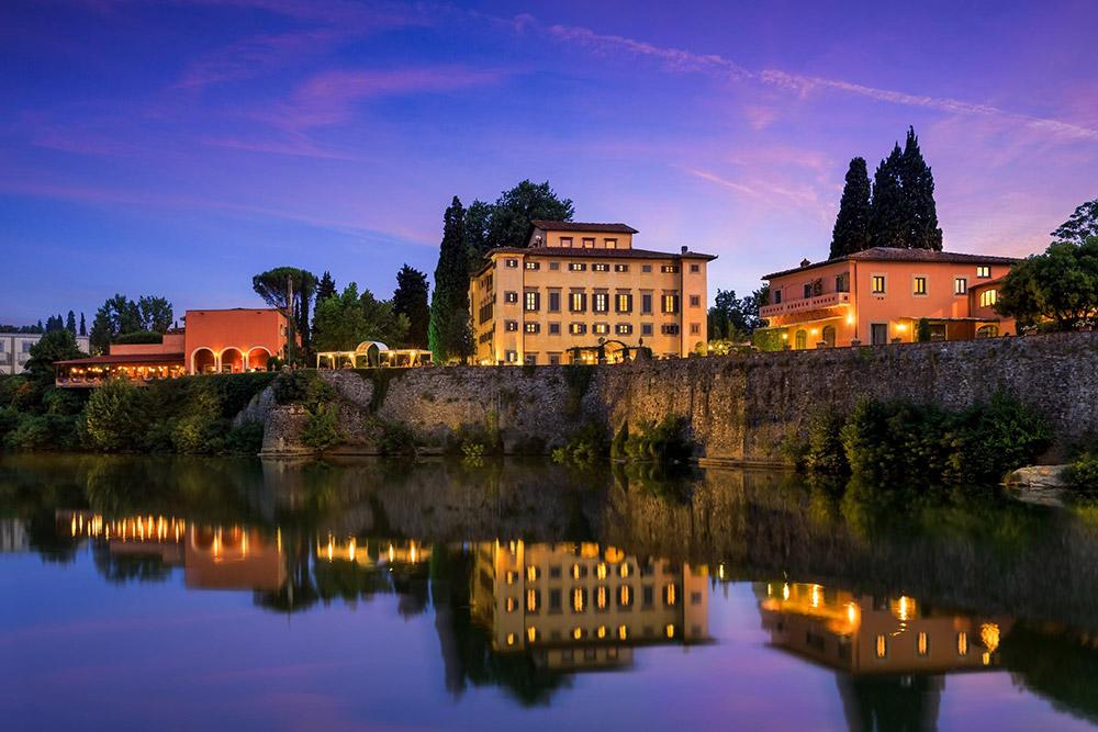 La Massa Florence luxury villa river view