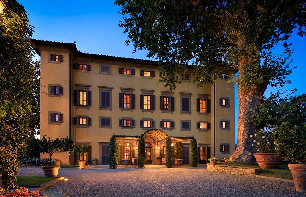 La Massa Florence luxury villa facade