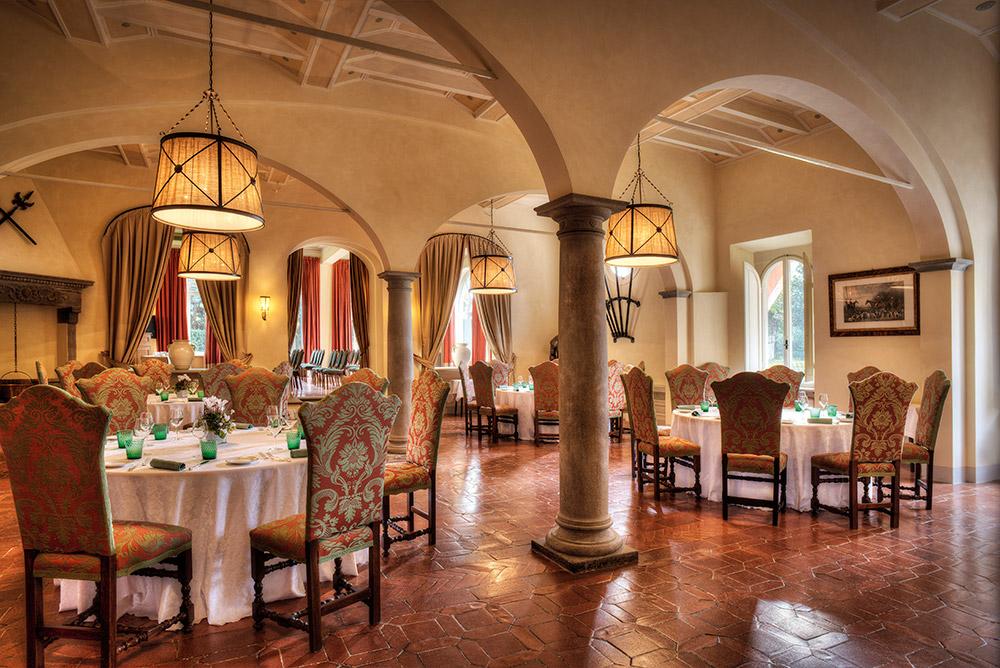 La Massa Florence luxury villa restaurnat