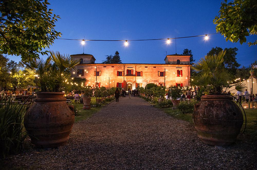 Villa Medicea di Lilliano Florence wedding venue facade