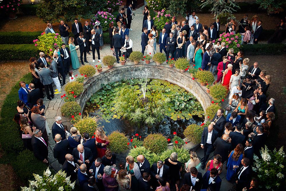 Villa Medicea di Lilliano Florence wedding villa entrance