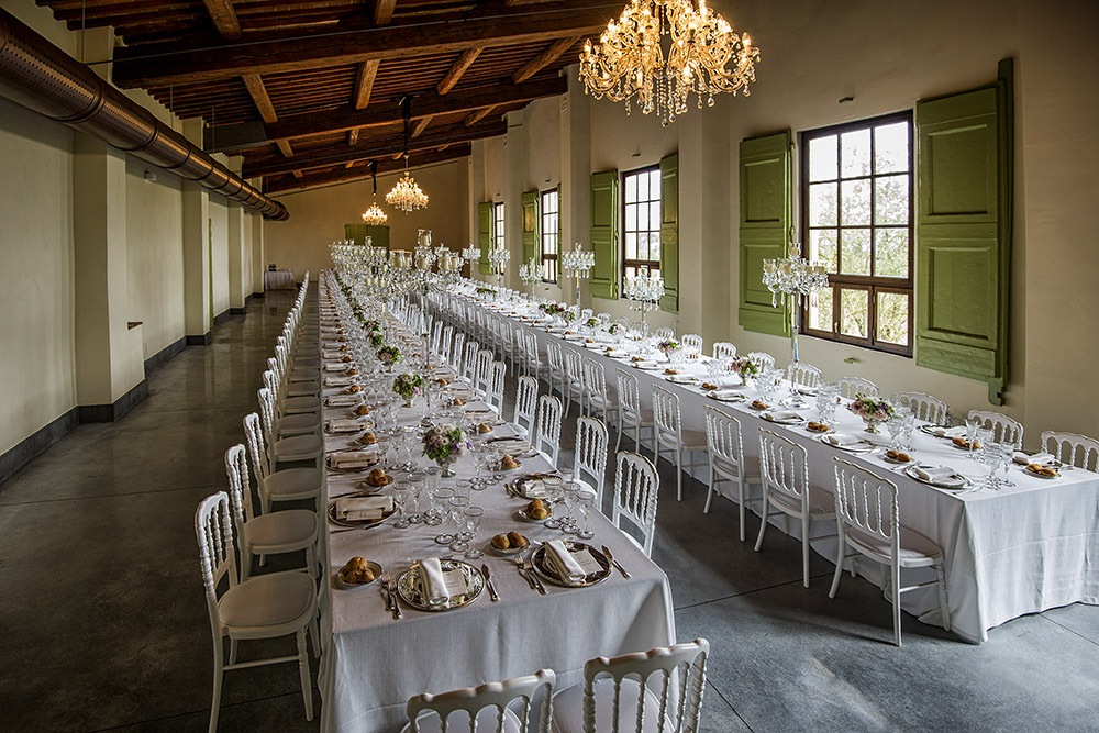 Villa Medicea di Lilliano Florence wedding venue internal