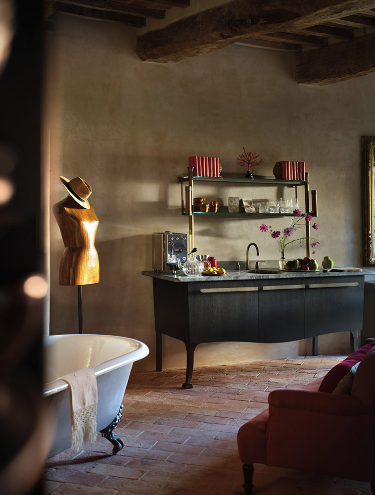 Castle in Umbria hotel and wedding retreat rooms