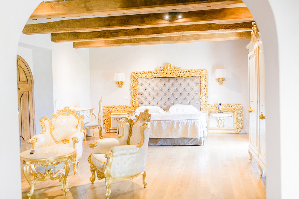 Small luxury wedding villa Cortona Italy