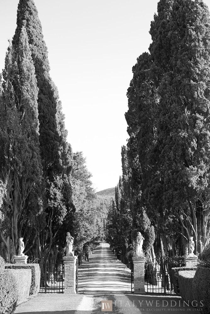 Villa Stomennano wedding formal countryside event in Tuscany