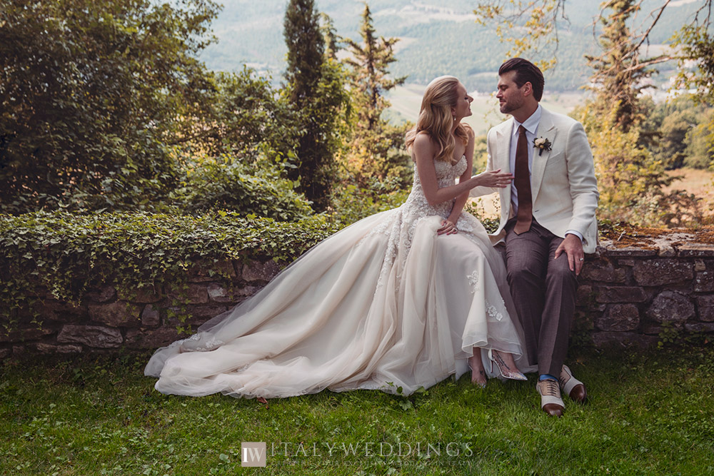A blessing in Umbria private villa first look